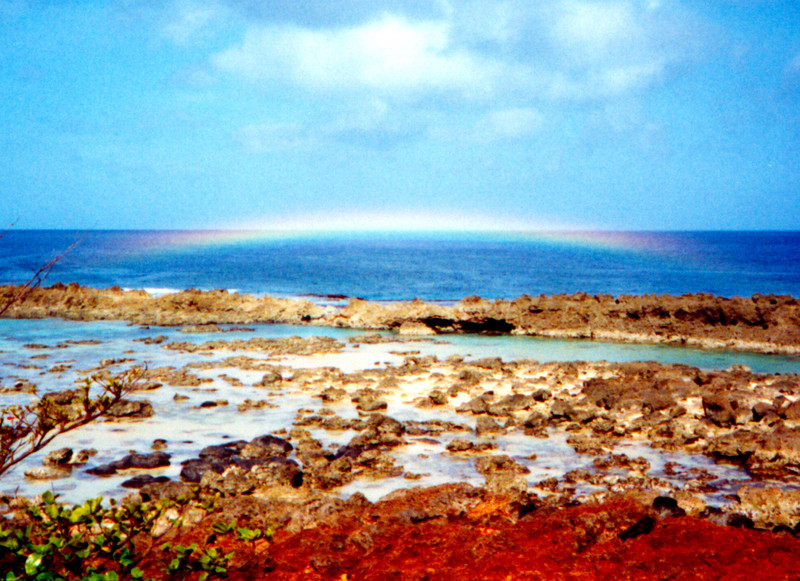 rainbow @ Pupukea Marine Life Conservancy - O'ahu 1999 April