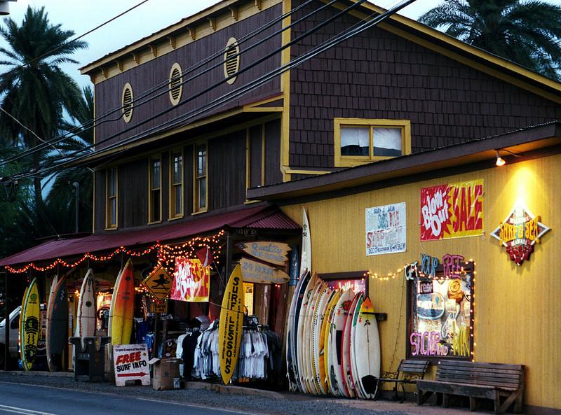 Hale'iwa Surf & Sea Shop - Christmas Eve 1999