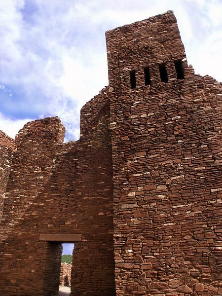 Quarai chimney ruins-central NM 10-2003