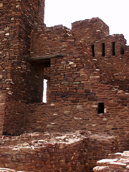 Stairway to Heaven, Quarai ruins, New Mexico
