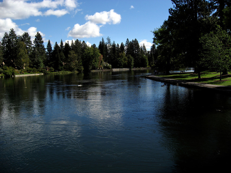 Deschutes River waterfront park-Bend, OR 9-16-2006