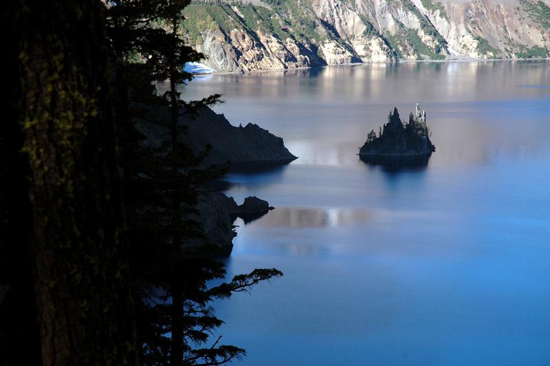 phantom ship close-up-Crater Lake NP, OR 9-2006