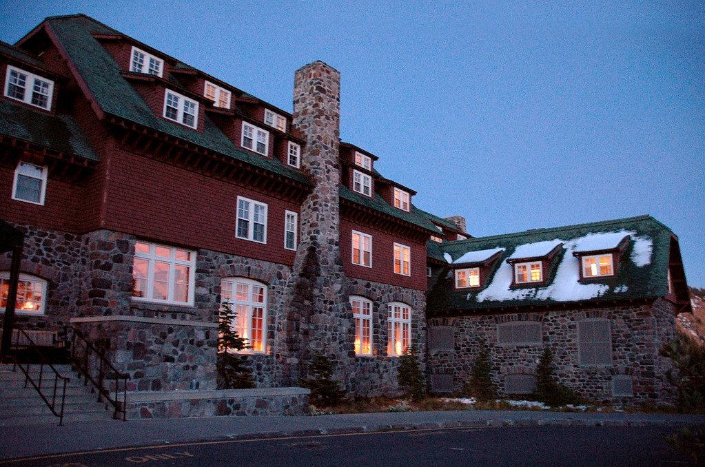 Crater Lake Lodge @ dusk, Oregon 9-16-2006