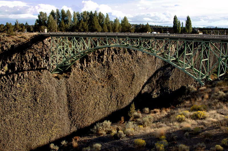 High Bridge spanning Crooked River gorge-Terrebonne, OR 9-15-2006