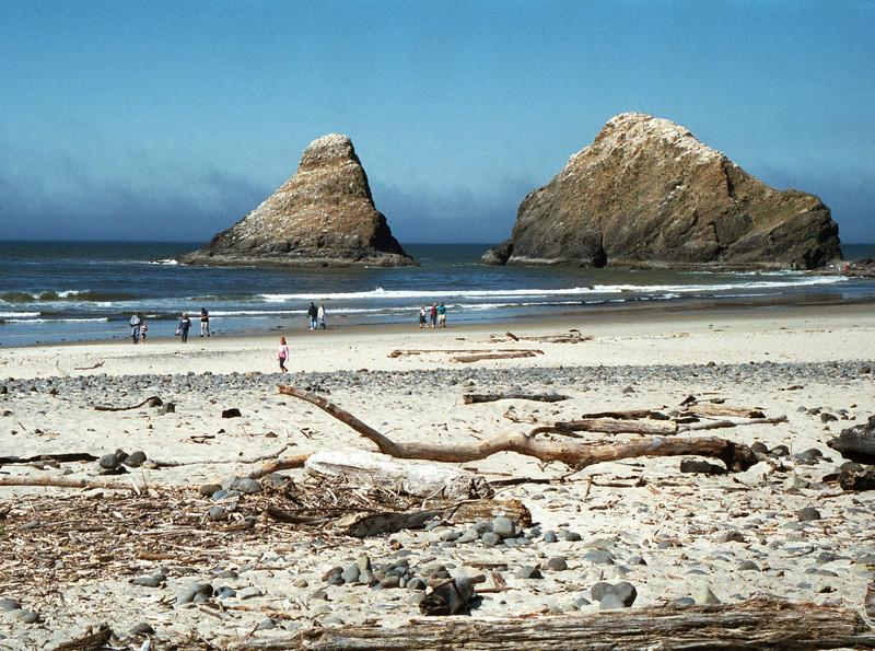 Heceta Head beach - Oregon 2000 Sept