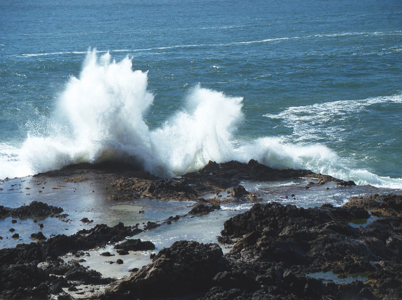 Devils Churn - Oregon coast 2000 Sept