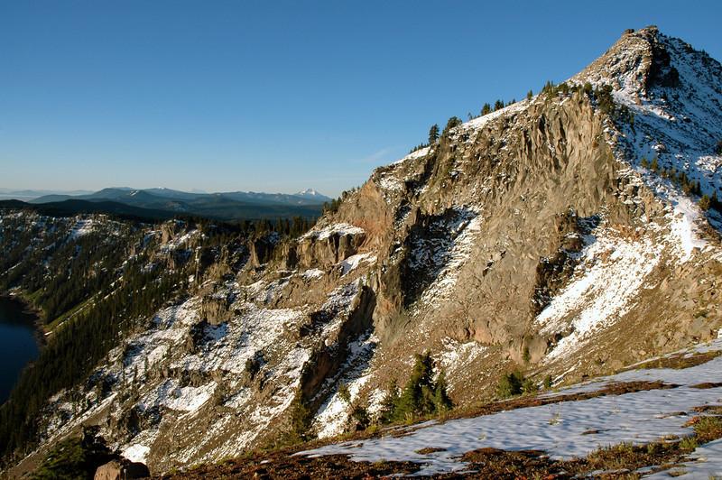 Watchman Peak, Crater Lake, Mt  Thielsen-OR 9-17-2006