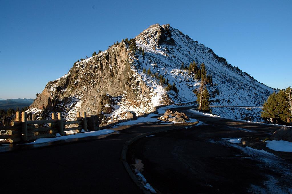 Watchman Peak, Rim Drive-Crater Lake NP, OR 9-17-2006