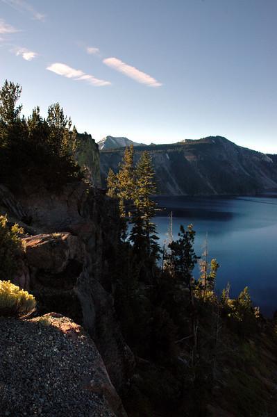 caldera walls-Crater Lake, OR 9-17-2006