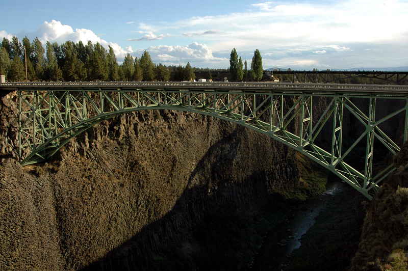 High Bridge over Crooked River-Terrebonne, OR 9-15-2006