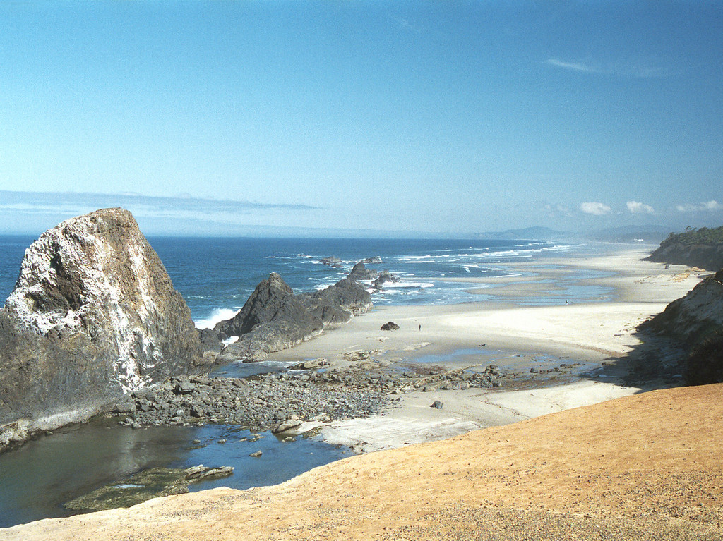 Seal Rock State Park - Oregon 2000 Sept