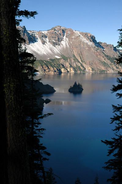 phantom ship-Crater Lake NP, Oregon 9-2006