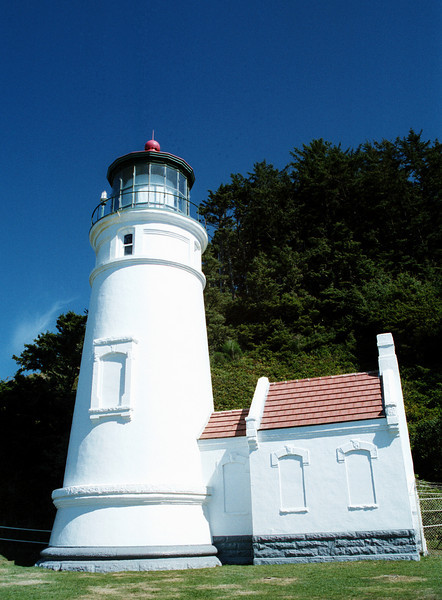 Heceta Head lighthouse - Oregon 2000 Sept