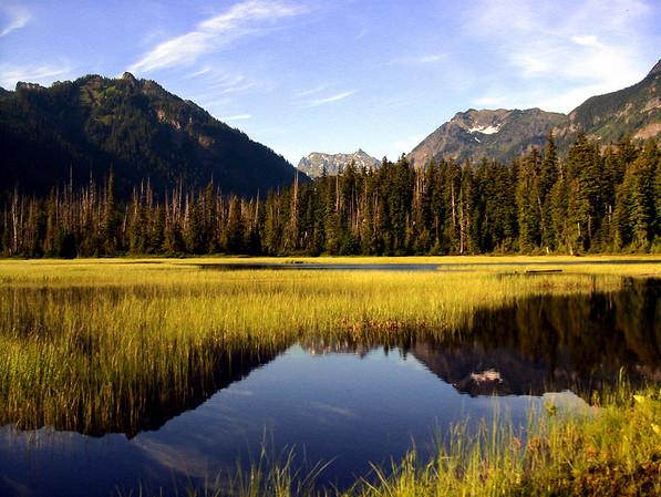 Mardee Lake in Cascade Mountains-Snoqualmie Pass, WA 7-2008