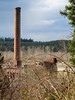 old smokestack @ former Weyerhauser lumber mill-Snoqualmie, WA 3-25-2011