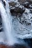 Snoqualmie Falls & icicles-WA 12-10-2009