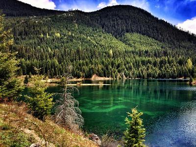 Gold Creek Pond-Snoqualmie Pass, WA 5-18-2014