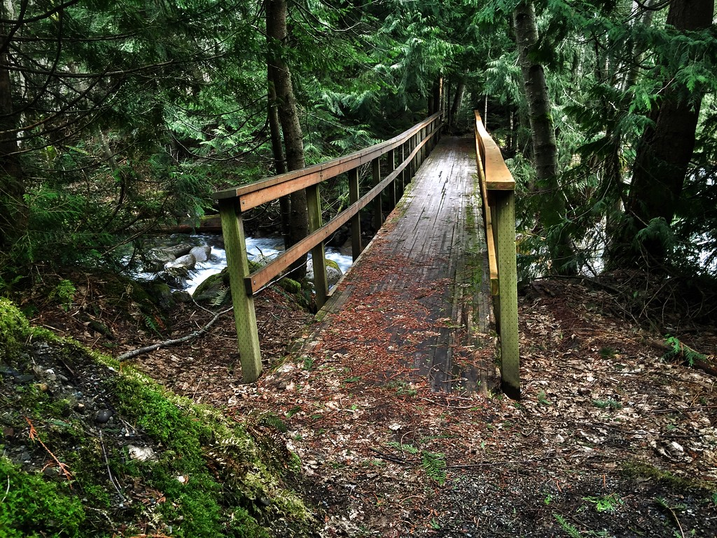 bridge over Denny Creek culvert 2-12-2015