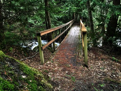 bridge over Denny Creek culvert 2-12-2015