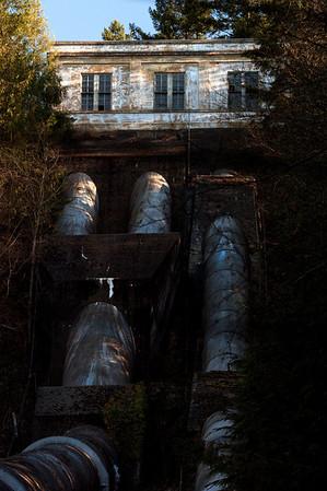 pumphouse pipes-Snoqualmie Falls, WA 12-10-2009