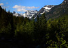 Cascade Mountains from Iron Horse Trail-Lake Keechelus, WA 6-2008
