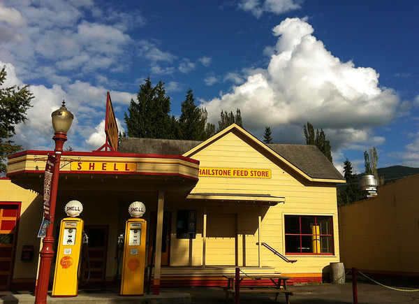 Shell station-Front Street-Issaquah, WA 8-29-2012