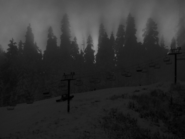 the trees are out there-Summit West ski lift, Snoqualmie Pass, WA 11-20-2010