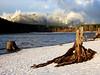 snow on Rattlesnake Lake & Mount Si-North Bend, WA 1-2008