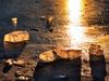 sunstruck ice on Rattlesnake Lake 1-21-2013