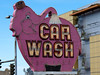 pink elephant car wash-downtown Seattle, WA 6-2010