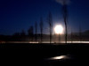 full moon over Cascades-Snoqualmie, WA 11-2008