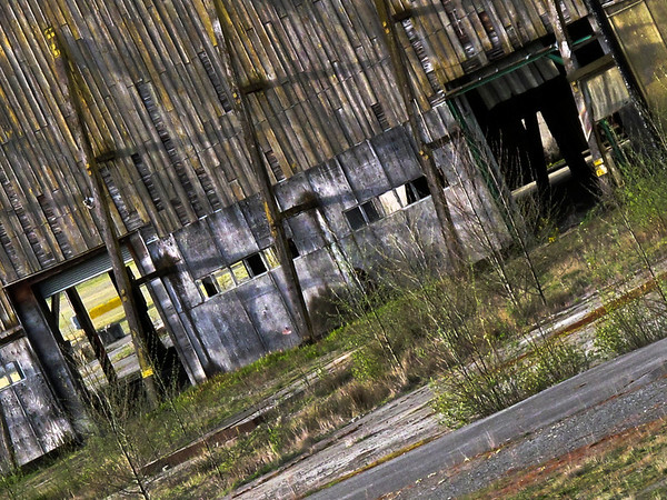 Weyerhaeuser warehouse @ old lumber mill-Snoqualmie, WA 3-2010
