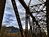 railroad bridge & Mount Si - Snoqualmie Valley trail