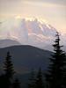 Mt Rainier view from Huckleberry Peak forest road above I-90-SnoPass, WA 7-2008