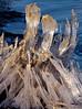 stalagmite ice sculpture-Rattlesnake Lake-North Bend, WA 12-2009