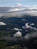 Mt  Rainier poking through the clouds, WA 6-30-2011