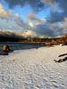 snowy surrounds of Rattlesnake Lake-North Bend, WA 1-2008