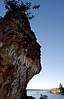 petrified profile on Strait of Juan de Fuca-Olympic Peninsula, WA 7-2008