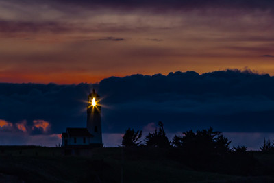 THE EDGE OF NIGHT: CAPE BLANCO LIGHTHOUSE, OREGON