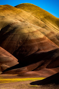 SPLASH OF COLOR: THE PAINTED HILLS, JOHN DAY NATIONAL MONUMENT, OREGON