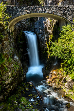 PORTAL TO CHRISTINE FALLS: MT. RAINIER NATIONAL PARK, WASHINGTON