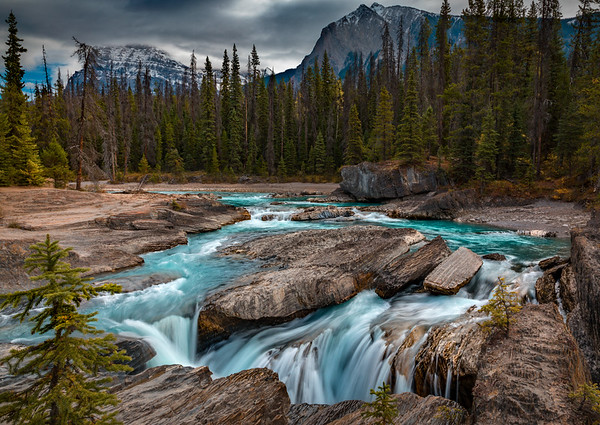 SILKY FLOW: KICKING HORSE RIVER, YOHO NATIONAL PARK, CANADA