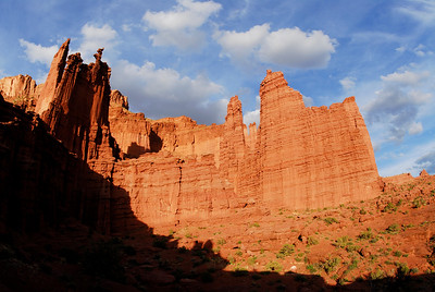 Fisher Towers. Utah, USA.