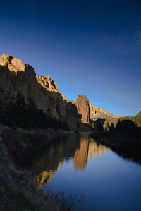 Smith Rock State Park, Oregon.