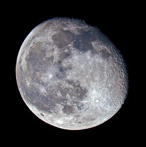 Waning Gibbous Moon over the Scottish Highlands - 1565