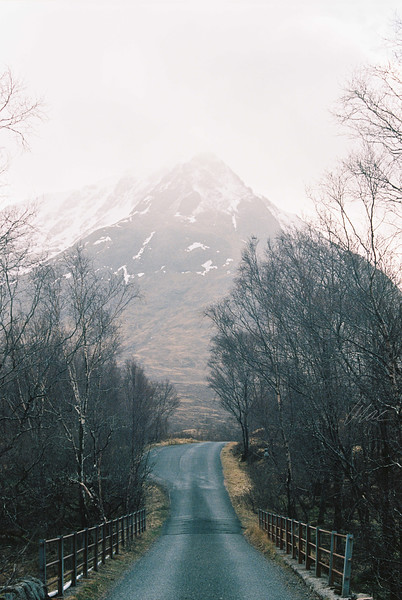 Mist - Glen Etive (shot on film)