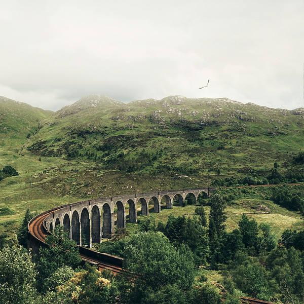 Glenfinnan Viaduct (The Harry Potter Bridge)