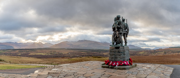 Commando Memorial, Lochaber, Scotland-1