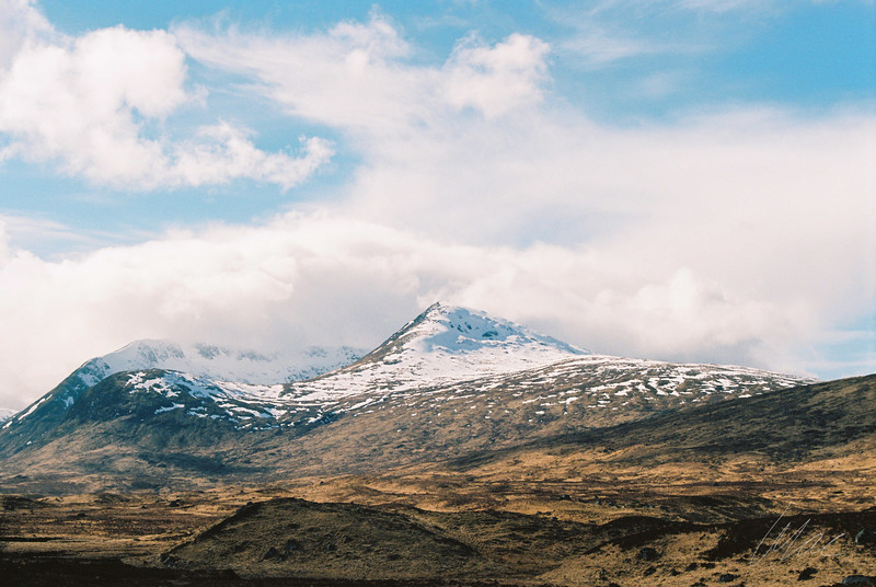 Rannoch Moor - The Last of Winter (shot on film)