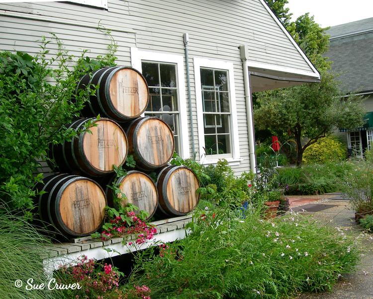 Wine Barrel Pattern